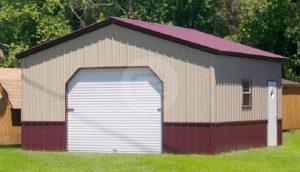 Vertical Metal Garage