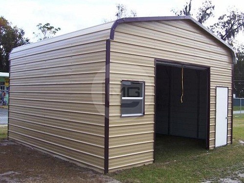 18 Width Garage Buildings Metal Garages Plans Structures
