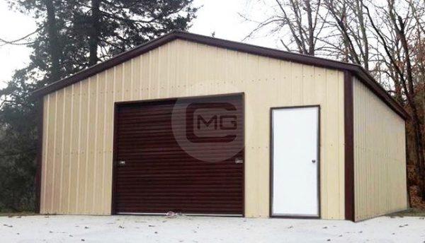 18x21x9 a-frame-boxed-eave-garage