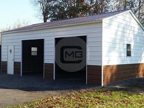 18x26x10 Steel Garage Pr Engineered Side Entry Garage Frame