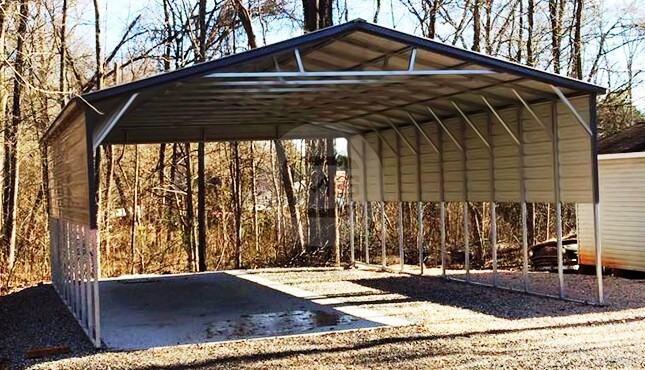 26'wx41'lx12'h-triple-wide-carport