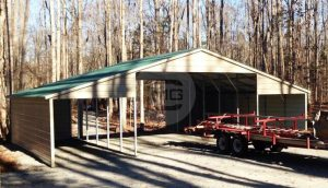 seneca-barn-with-12wx26x7-lean-to's