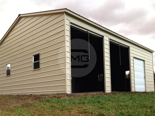 20x31x10 vertical garage side entry prefab garage building for Side entry garage