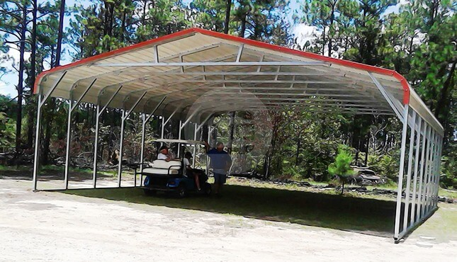 30x31x9-carport-triple-wide