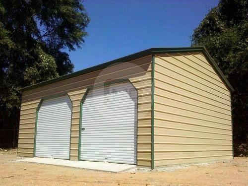 20 26 two car steel garage for sale prefab garage frame for 20 x 26 garage