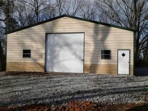 30x21x11 Metal Garage