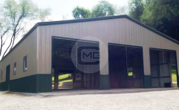 44x48x12 Custom Garage Workshop