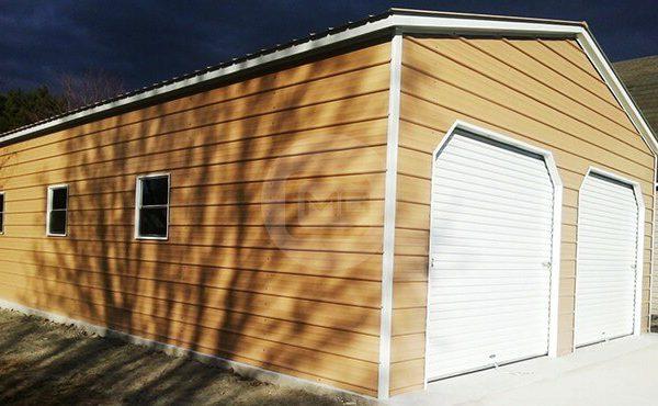 24x41x10 Vertical Roof Garage 24x41 Metal Garage Building