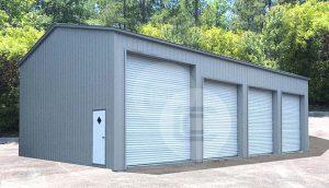 24x51x14 Side Entry Garage