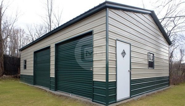 side-entry-metal-garage-24x31x10