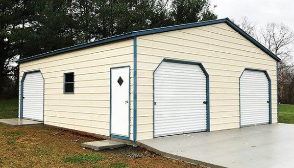 30x31x10-prefab-metal-garage