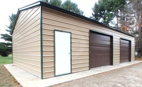 24x31x10 Side Entry Garage 24x31 Side Entry Metal Building