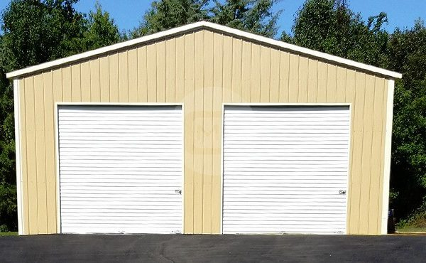 30x36x12 Car Parking Garage 30x36 Metal Garage