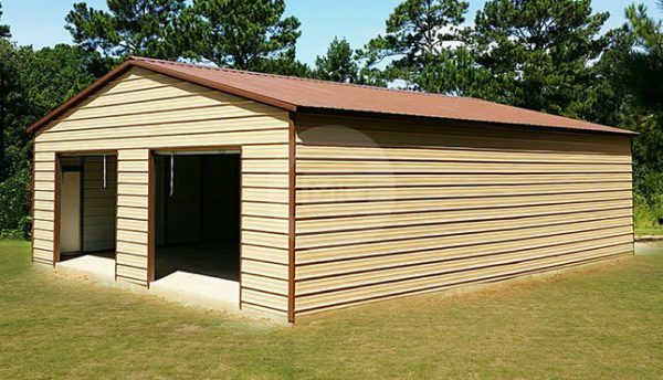 24x41-Two-Car-Steel-Garage