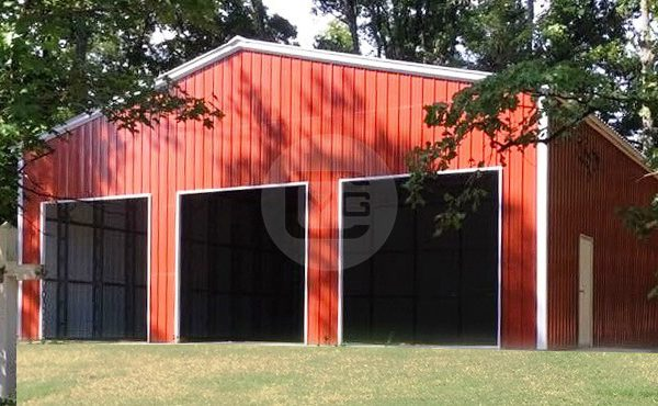 50x50x16 clear span garage for Clear span garages