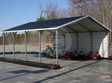 A-Frame Steel Carport