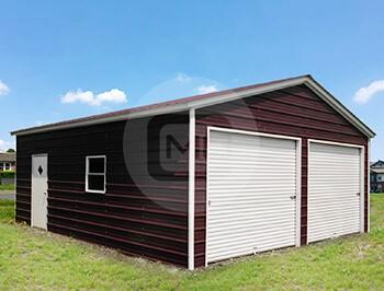 24x26 two car garage garage for 2 cars. Black Bedroom Furniture Sets. Home Design Ideas