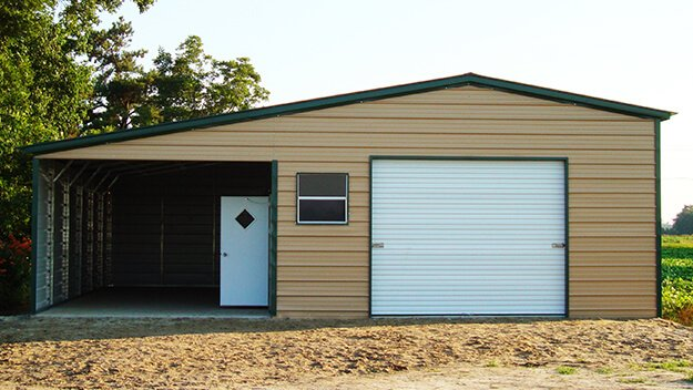 Lean-to Garages