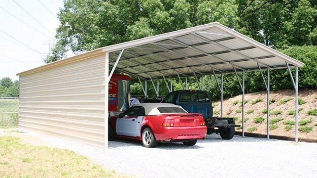 Steel Carports for RVs and Motorhomes