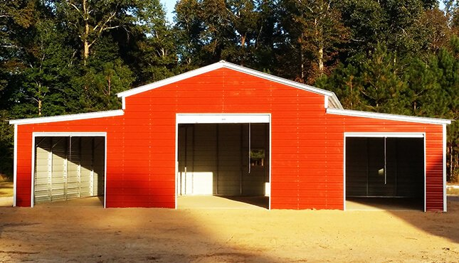 Lean-to Barns