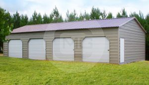 20x46x10 Side Entry Storage Building