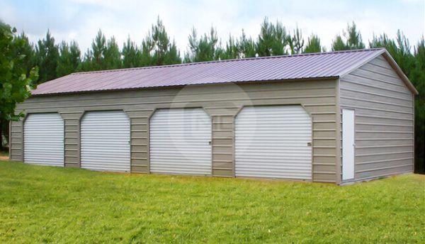 20x46x10 Side Entry Storage Building