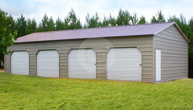 20x46x10 Side Entry Storage Building | Side Entry Storage Shed