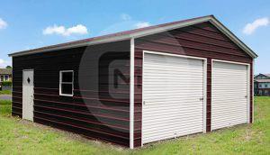 24x26 Two Car Garage