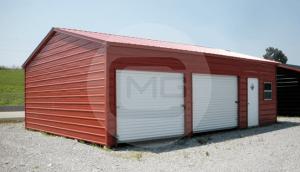 24x36 Side Load Metal Garage