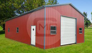 24x41x12 Prefab Garage