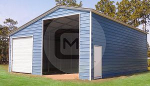 30x36 Lean-to Building