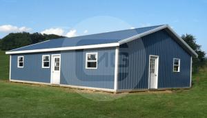 30x41 Prefab Metal Home