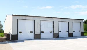 30x56 Prefab Workshop Building