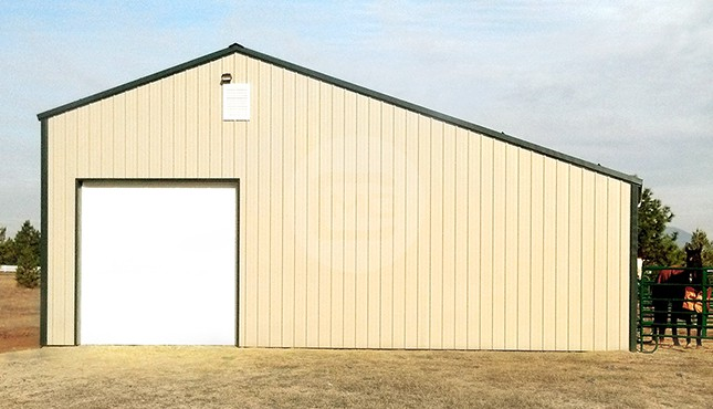 36x31 Garage With Lean To