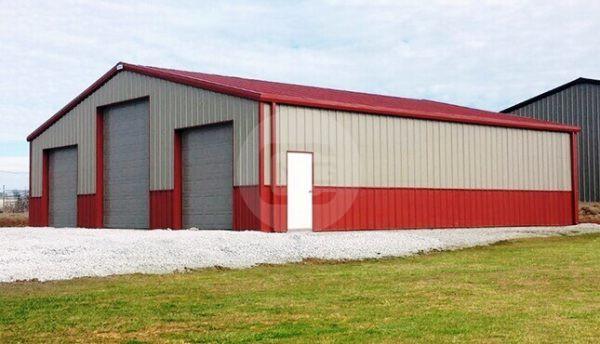 40x40 Prefab Garage