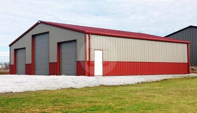Rv For Sale Ny >> 40x40 Prefab Garage | Commercial Metal Building