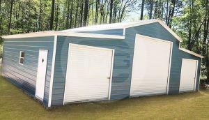 42x30 Steel Pole Barn