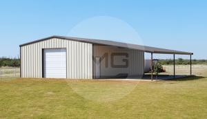 44x41 Lean-to Garage