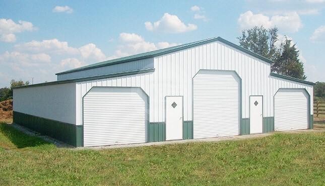 46x41x12 Commercial Barn Garage