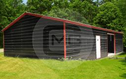 26×71 Side Entry Garage Building