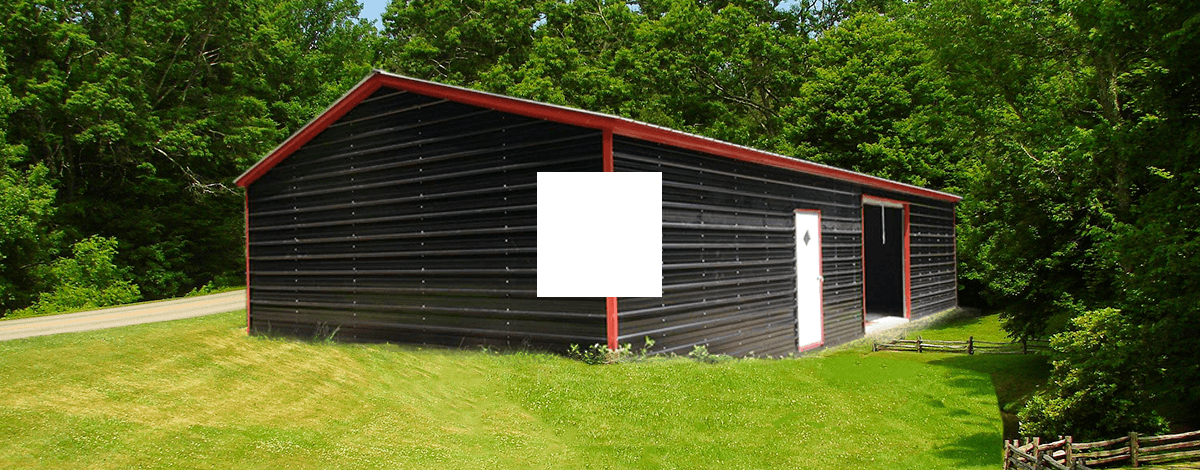 26x71 Side Entry Garage Building