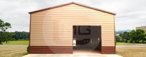 Metal-garage-workshop