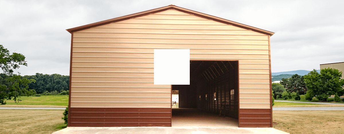 24x 50 Metal Garage Workshop Building