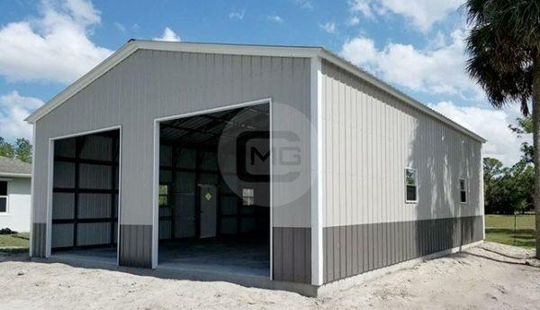 30x46 Metal Garage | 30x46 Steel Garage Building
