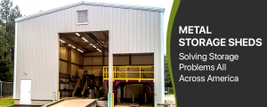 Metal Storage Sheds - Solving Storage Problems All Across America