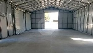 24x41-metal-garage-building-interior-2