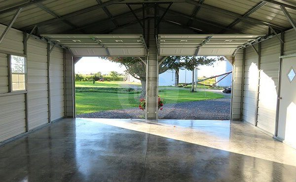 22x30 Two Car Garage Pre Engineered 2 Car Garage Online