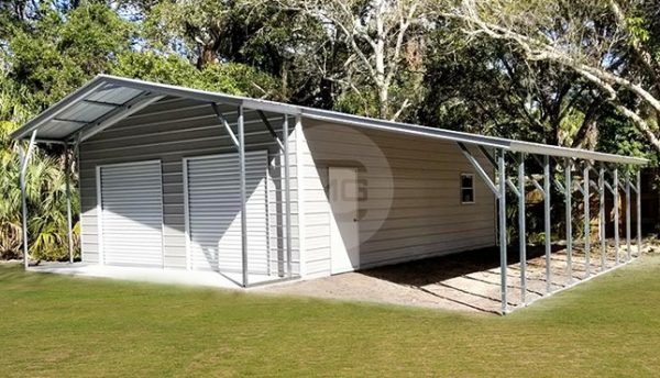 36x36-garage-with-lean-to-and-porch