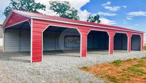 30x60 Vertical Roof Garage
