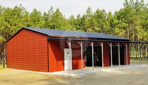 52x50 Side Entry Garage
